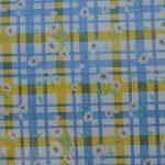 garment check white-blue